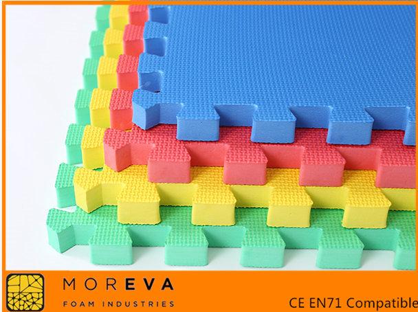 Thick EVA Puzzle mat EVA Floor mat  Mor Eva Foam