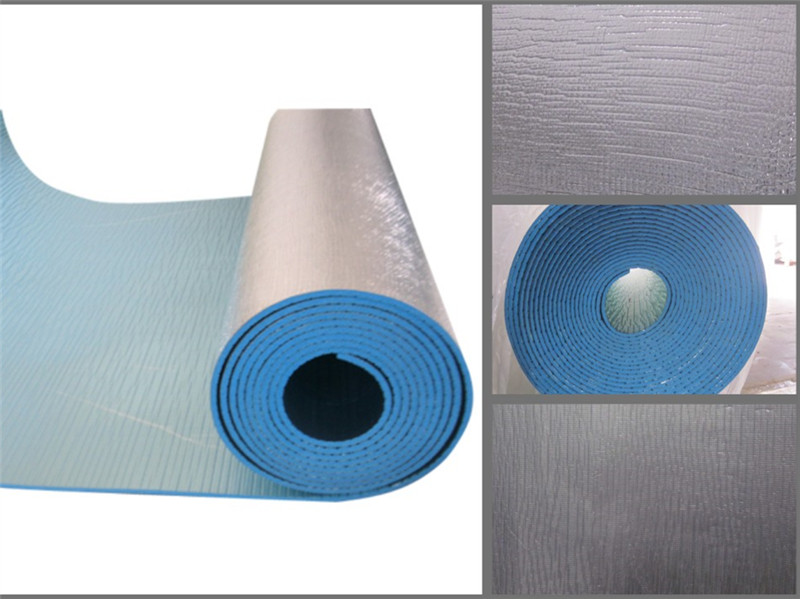 XPE foam coated aluminum Fireretardant heat insulation
