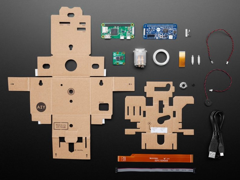 Adafruit Google AIY Projects