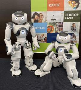 robots in residence Nao6