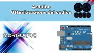 Arduino ottimizzazione del codice