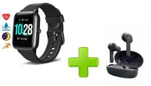 smartwatch con cuffie