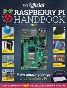 The official Raspberry PI handbook