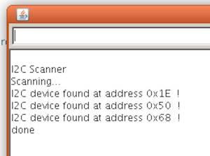i2c scanner arduino