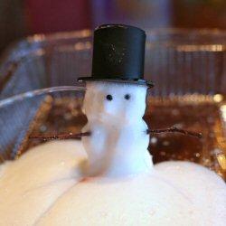 Foaming Snowman