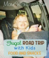 Frugal Road Trip with Kids – Food and Snacks