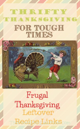 Thrifty Thanksgiving for Tough Times – Frugal Thanksgiving Leftover Recipe Links