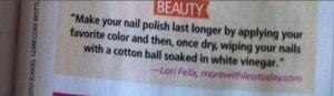 Lori's tips