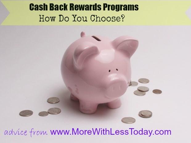 comparing cash back rewards programs