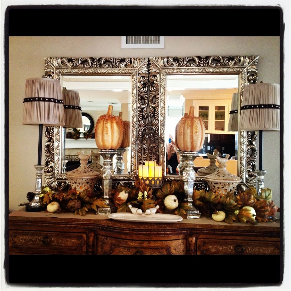 mindy's fall tablescape