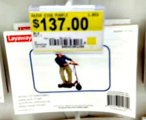 Christmas layaway at Walmart