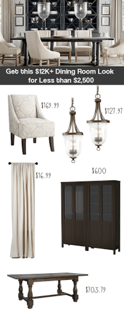 Restoration Hardware inspired decor, decor on a dime Get the Look of Restoration Hardware, copy cat Restoration hardware decor, knock off the look of RH