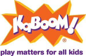 what is KaBOOM? playground finder map- neighborhood partnership to bring back play-KaBOOM More With Less Today- safe playgrounds for kids