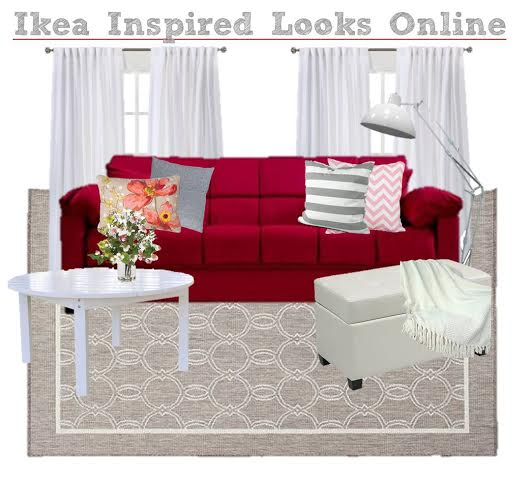Ikea inspired decor, living room decor Ikea style, get the look of IKEA, copycat IKEA furniture, modern furniture like IKEA, decorate like IKEA