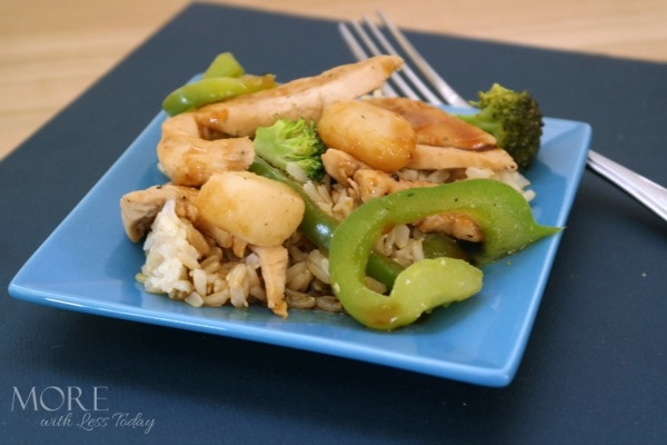 Mongolian Chicken Stir Fry