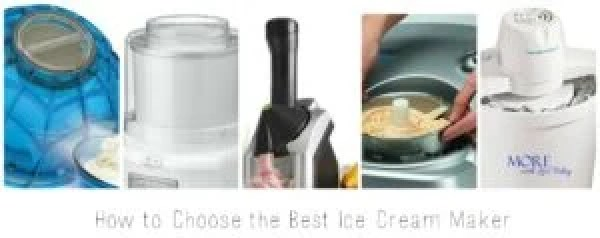 How to choose the best ice cream maker, freezer bowl vs compressor ice cream makers, inexpensive ice cream makers, review of ice cream makers, Yonana review