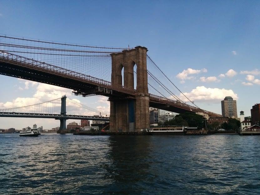 under the bridge NYC