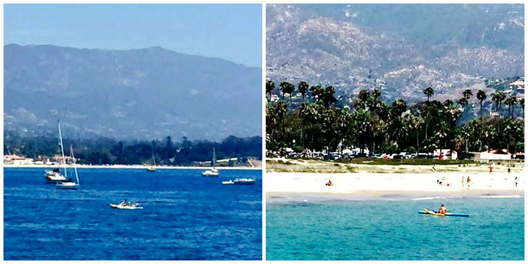 Santa Barbara collage