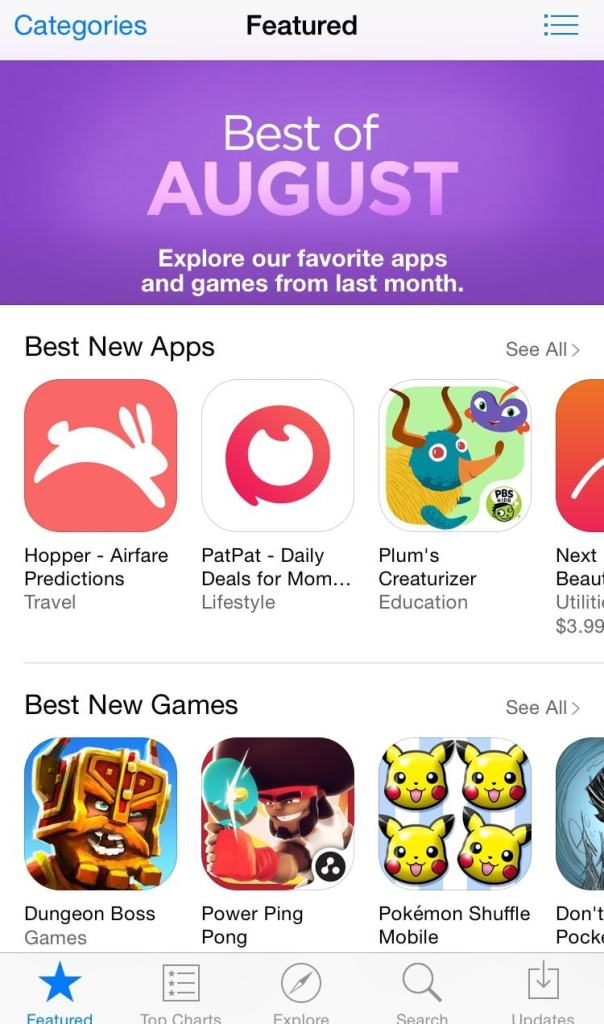 best new apps