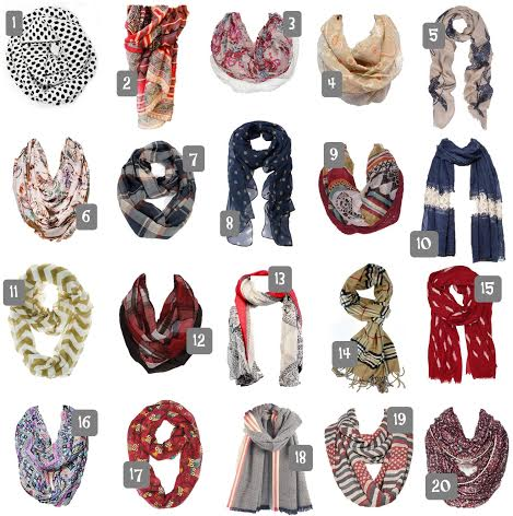 inexpensive fall scarves, transition with fall accessories, Amazon.com fall scarves, Target.com fall scarves, update your wardrobe using scarves