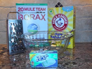 DIY Cleaning Products laundry soap