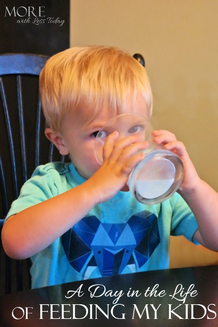 A Day in the Life of Feeding My Kids, How I Make Sure My Kids Are Getting All The Nutrition They Need Throughout The Day, healthy breakfast, milk, protein