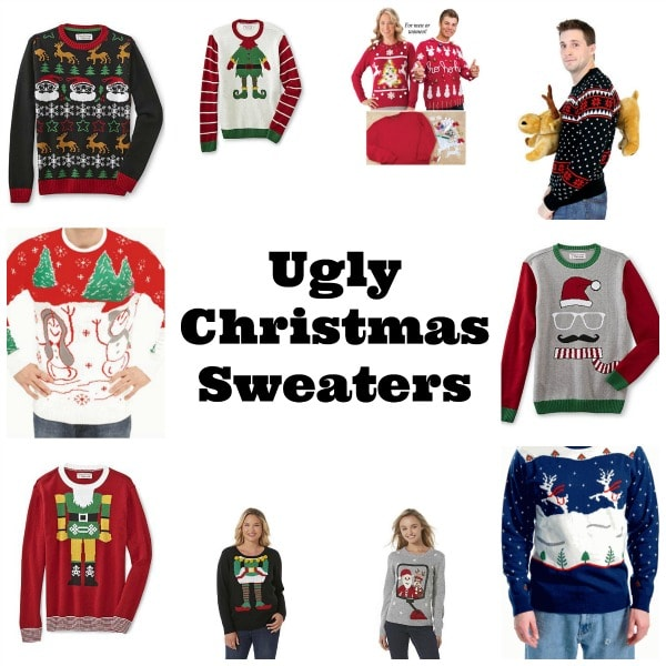 Whether you're attending an ugly Christmas sweater party at work, going on a bar crawl, or throwing a house party, we'll help you find the perfect ugly Christmas sweater for you to wear. Light-up Christmas sweaters and dresses will keep you shining bright.