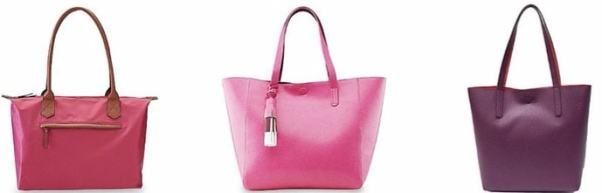 bright colored purses for Spring