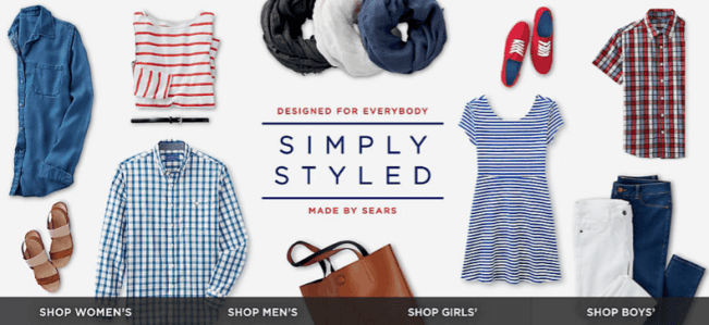 Simply Styled by Sears