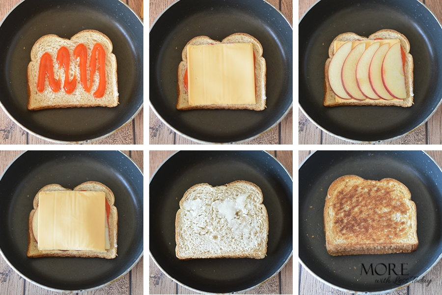 How to Make a Grilled Cheese Sandwich Recipe Step by Step