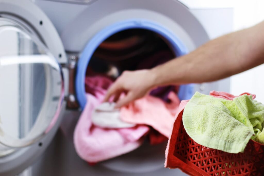 laundry tips spring cleaning