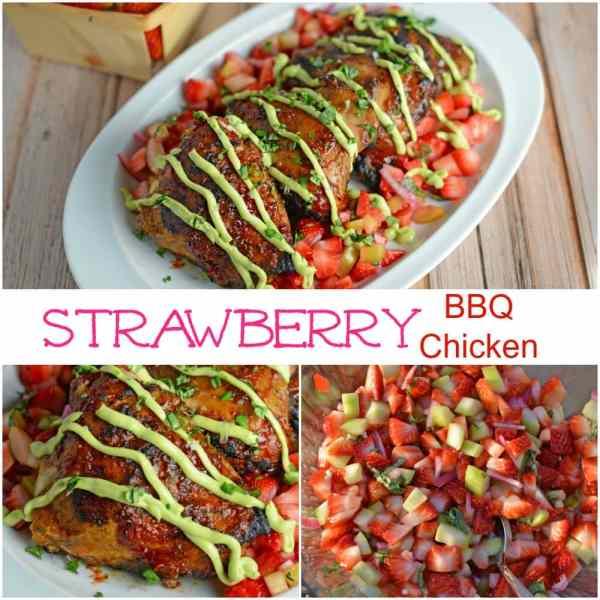Strawberry- BBQ Chicken recipe