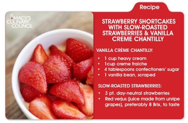 Macy's Strawberry Shortcake Day
