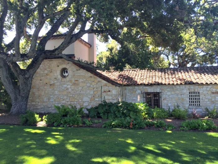 Holman Ranch hacienda