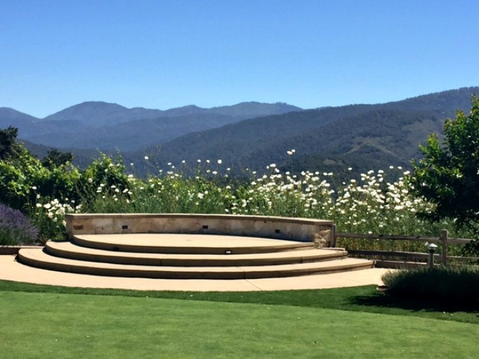 Holman Ranch wedding area