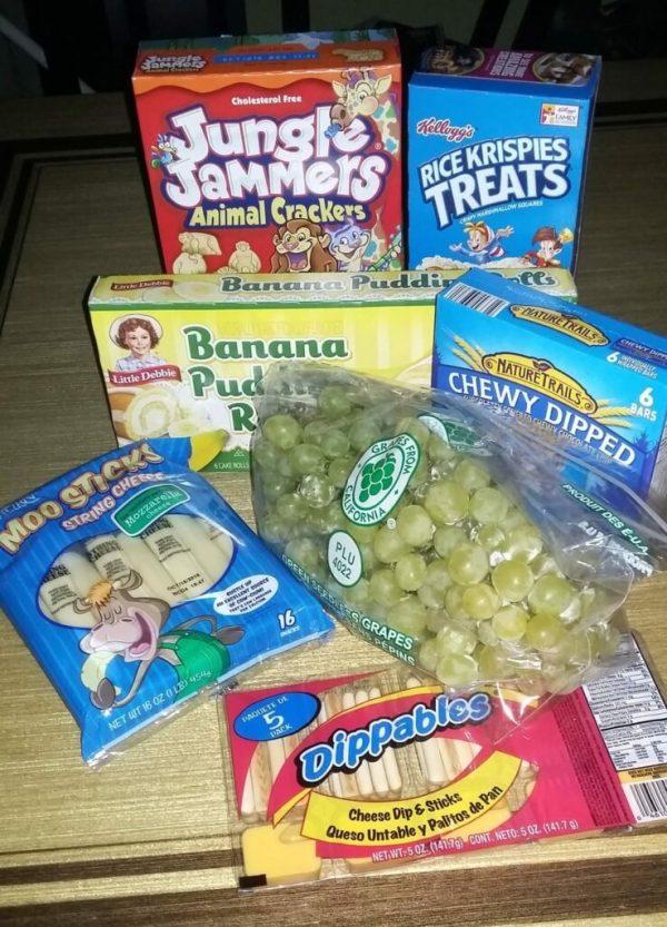 Sav-A-Lot lunch box snack ideas