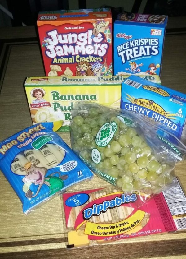 Sav-A-Lot lunch box snack ideas