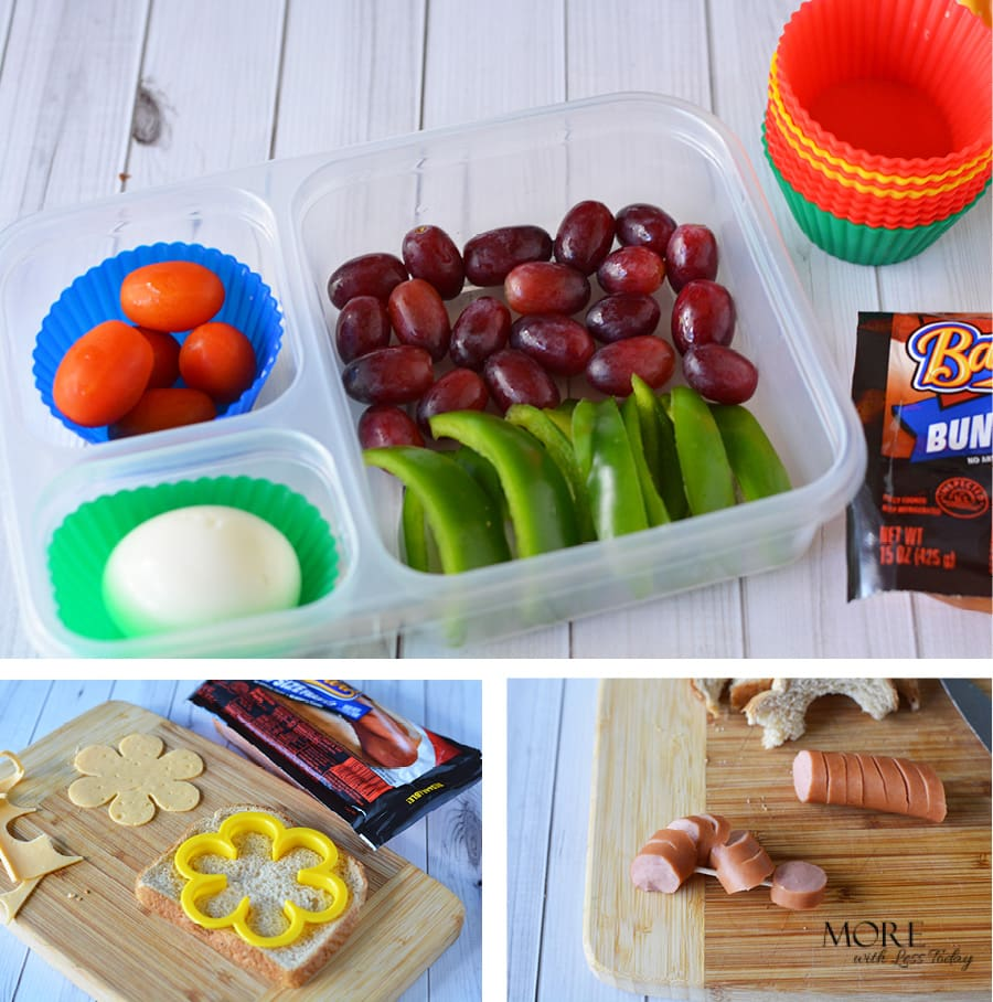 how to make a fun lunch for back to school