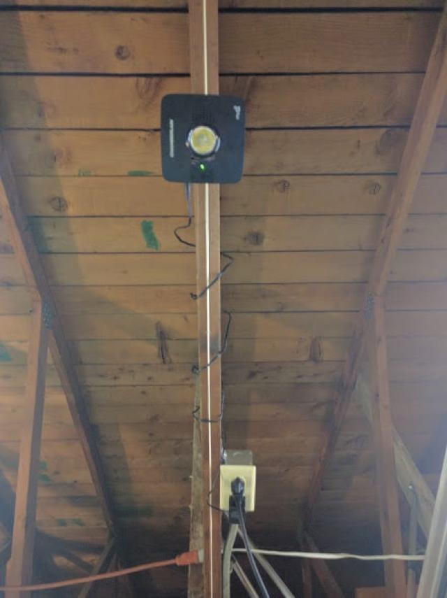 connect your garage door opener to your smart phone