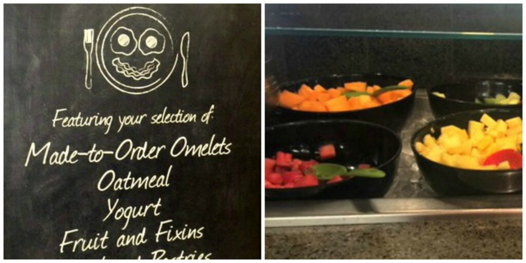 Made to order breakfast at Embassy Suites Phoenix-Scottsdale
