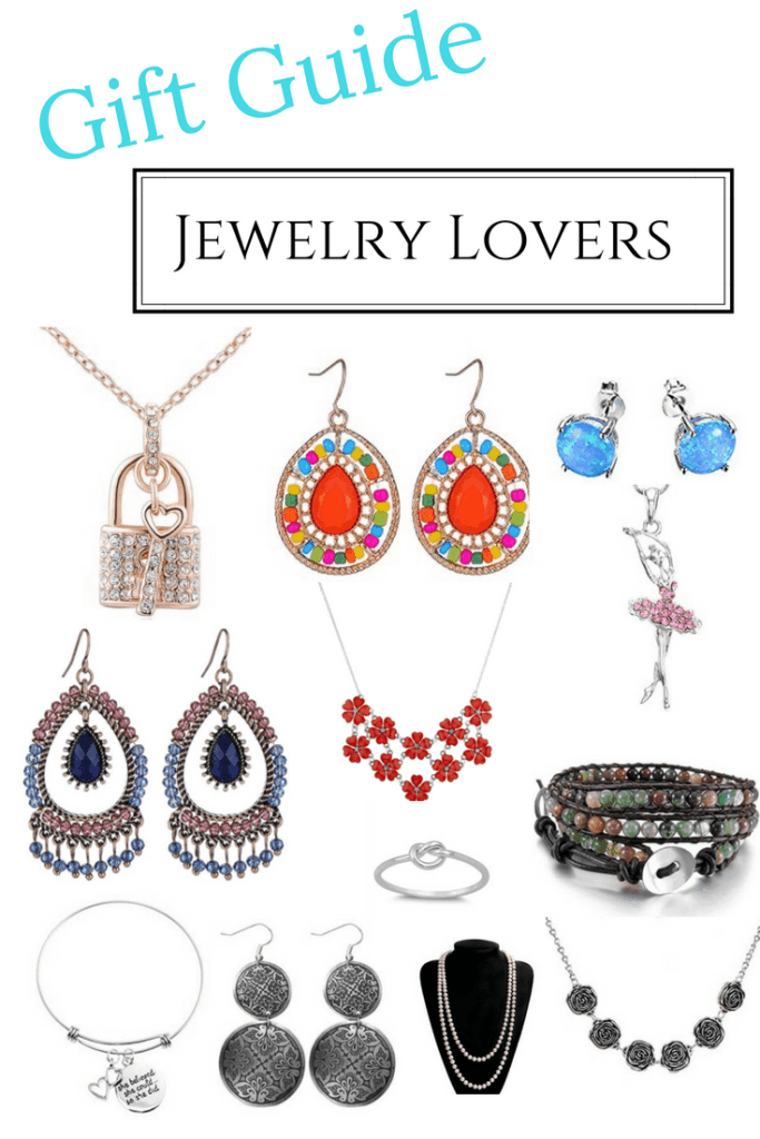 We put together a gift guide for the jewelry lover with great picks for under $10. These make great stocking stuffers or last minute gifts to have on hand.