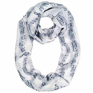 womens-fashion-music-note-print-infinity-scarf