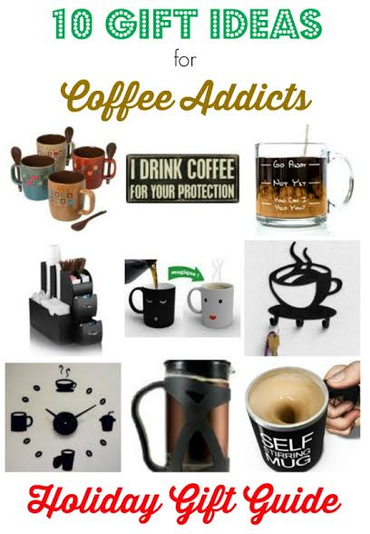 Are you looking for gifts for a coffee lover on your list? We found inexpensive gift ideas with a coffee theme that are sure to please.