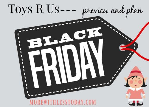 We have the Toys R Us Black Friday deals that you can preview now and plan to save. See if the toys on your list will be deeply discounted on Black Friday.