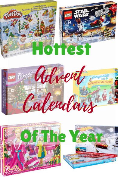 Is your family counting down the days to Advent? We have a roundup of Advent Calendars for you to enjoy this holiday tradition.