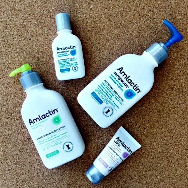 AmLactin products for dry skin