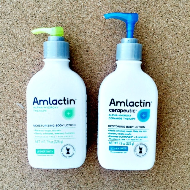 AmLactin therapy for aging and dry skin