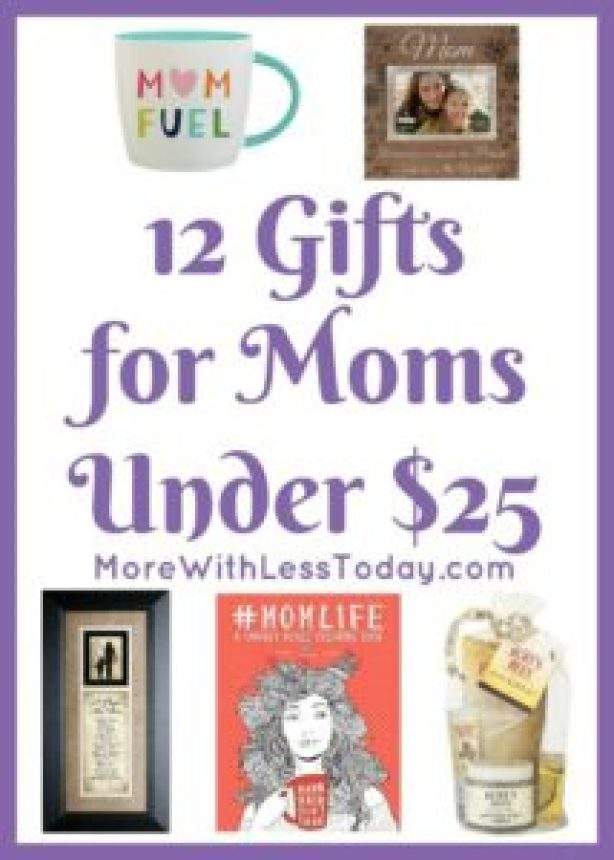 Are you looking for a special and inexpensive gift for mom? We found 12 Gifts for mom under $25 that she is sure to love.