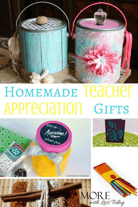 homemade teacher appreciation gifts