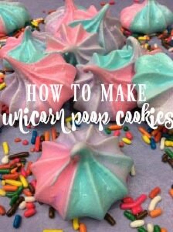 Here is how to make Unicorn Poop meringue cookies. The recipe is easy and fun and delights everyone! They are gluten-free.